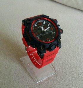 Часы Casio G-Shock Mudmaster Red