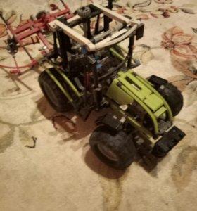 трактор лего техник 8284