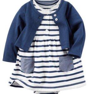Платье-боди для малышек