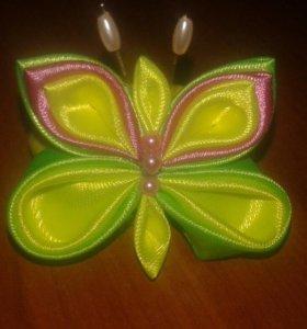 Бабочки на резинках