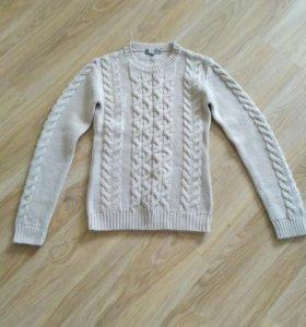 Теплый свитер баон