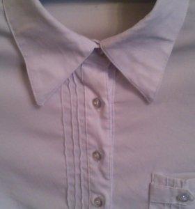 Рубашка школьная детская на девочку