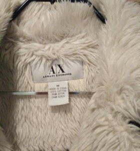 Вельветовое пальто на синтепоне