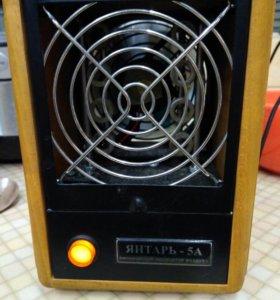 Биполярный ионизатор воздуха Янтарь-5А