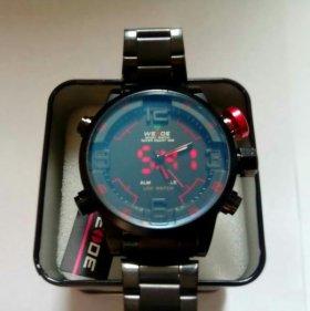 Часы наручные спортивные водонепроницаемые противоударные