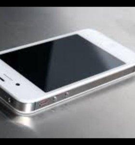 iPhone 4 16ГБ, чехол, защитное стекло.