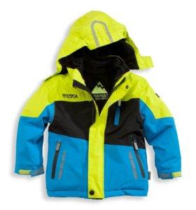 Курточка с флиской Cunda раз. 128 б/у