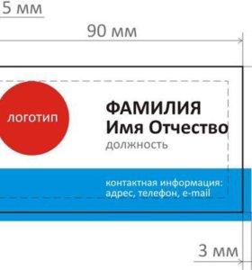 Комплект для производства визиток