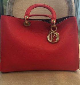 Сумка Dior Diorissimo Bag артCD08-01 бежевая Диор