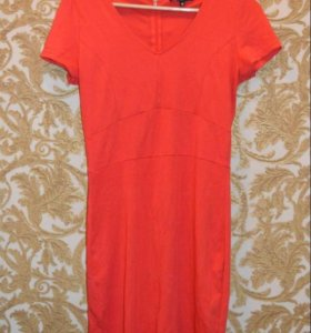 Мандариновое платье 🍊
