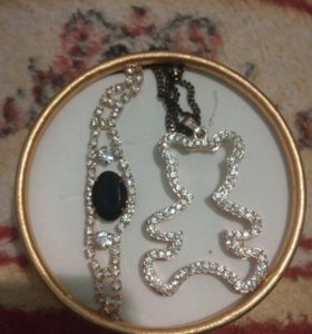 Украшения Ожерелье и браслет
