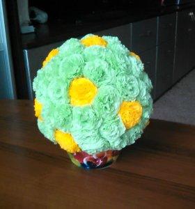Большие цветочные шары