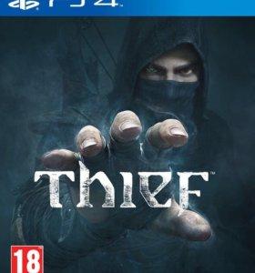Игры на пс4. Watch Dogs, Thief, Fifa14. Все вместе