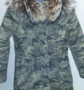 Куртка теплая 40-44
