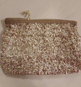 Вечерняя сумочка с пайетками новая от Oriflame