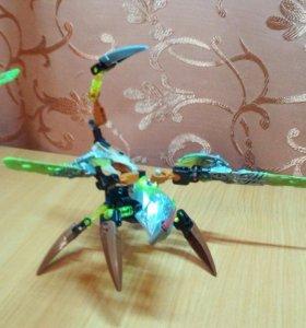Робот лего  bionicle тотемное животное камня