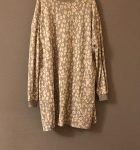 Платье-свитшот  asos