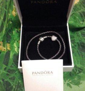 Pandora браслет и шарм оригинал