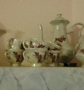 Чайно-кофейный набор посуды!