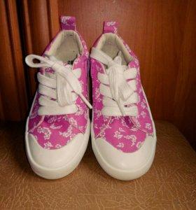 Новые кеды р28 обувь детская