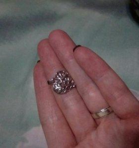 Подвеска сердечко серебро санлайт