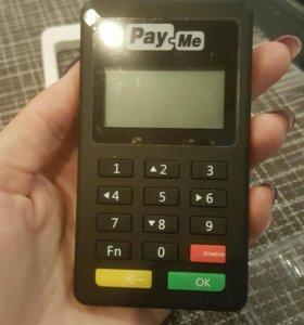 Считыватель банковских карт (Пэй ми, Pay me)
