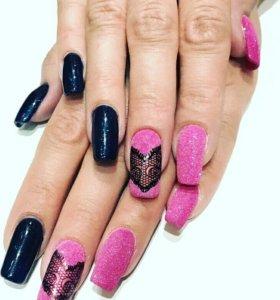 Коррекция гелевых ногтей
