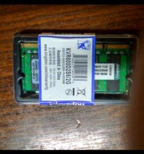 Память ddr2 для ноутбука KVR800D2S6/2G