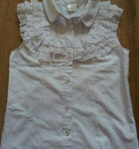 Блузки с коротким рукавом.