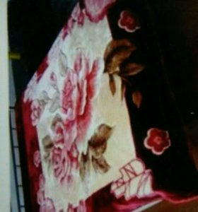 Подари тепло любимой,,,одеяло плед япония