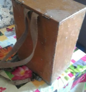 Ящик рыбацкий аллюминевый и стульчик