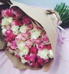 Цветы, свадебные букеты, роза