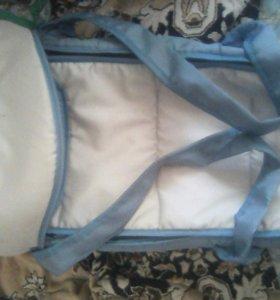 Продаю сумку переноску для ребенка в хорошем срсио