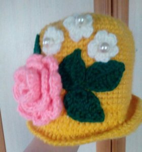 Весенняя шляпка