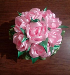 Розы в горшочке)