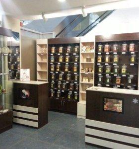 Торговое оборудование для отдела чай и кофе