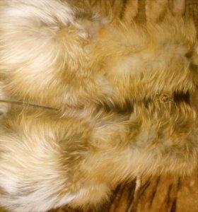Жилет из натурального меха лисички
