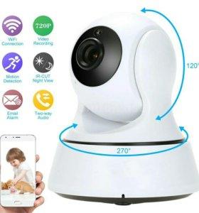 IP Камера видеонаблюдения Wi-Fi и видеорегистратор