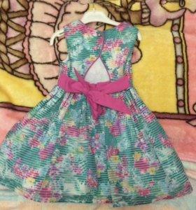 Платье 116см