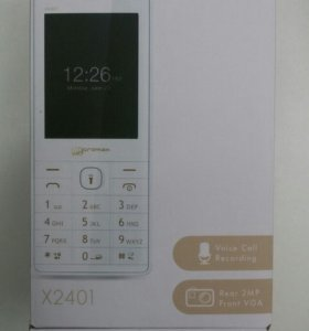 с.т. Micromax X2401