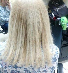 Rich креатин для выпрямления волос