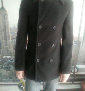 Пальто мужское , черное
