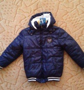 Весенняя (осенняя) куртка для мальчика