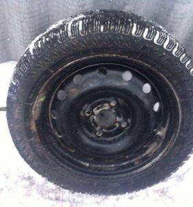 Фирели одно колесо!195.55R15 с диском
