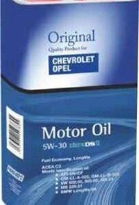 Моторное масло GM Chevrolet Dexos 2 5w30 (5w-30)