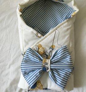Одеяло-конверт на выписку