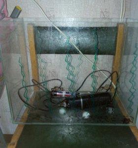 Продам аквариум (30л), обогреватель, фильтр