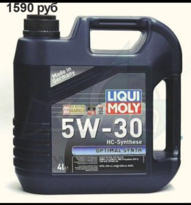 Масло моторное Liqui Moly Optimal Synth 5W-30 4 л