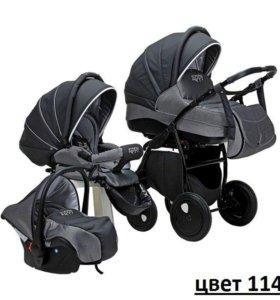 Детская коляска Tutis Zippy Silver Plus 3 в 1