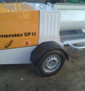 Putzmeister sp11 шнековый растворонасос